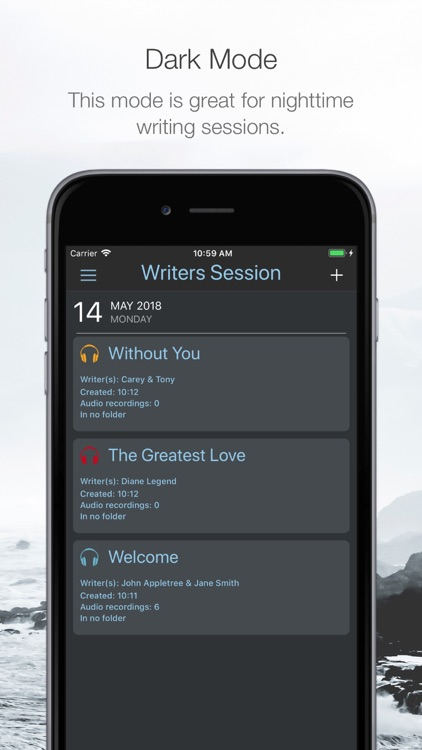 Writers Session screenshot-6