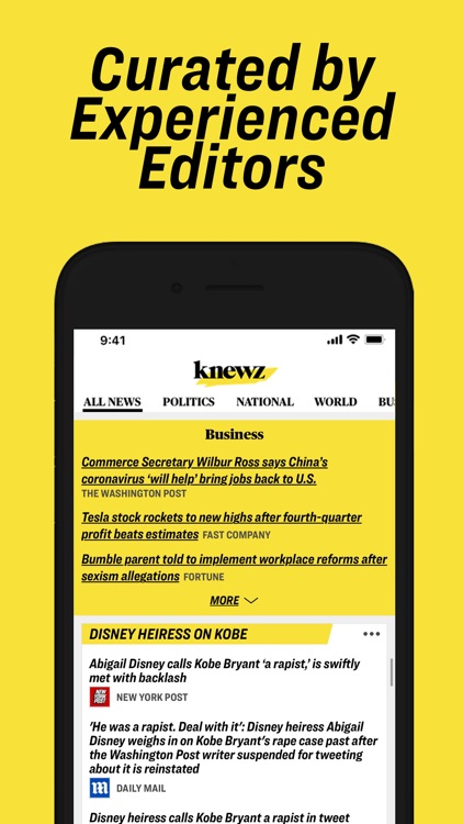 Knewz: Local & World News App screenshot-4