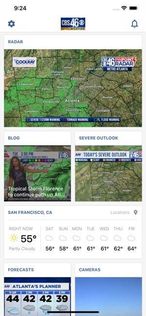 Atlanta Weather - CBS46 WGCL on the App Store