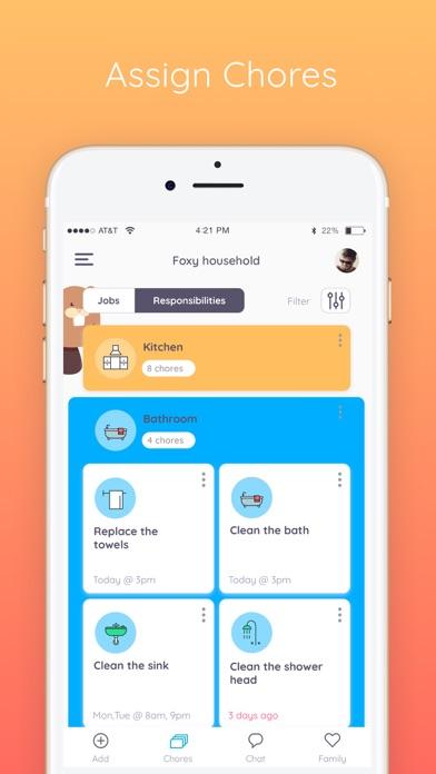 Homey - Chores and Allowance Screenshot