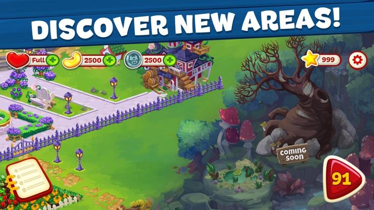 Wild Farm Match-3 Adventure screenshot-4