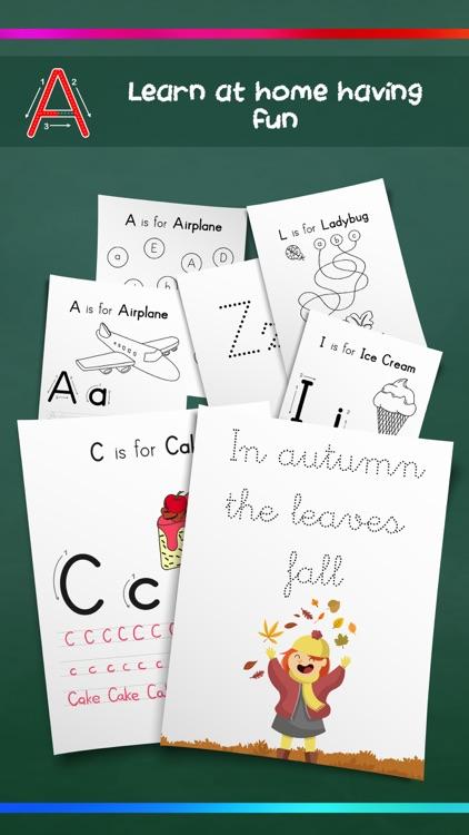Alphabet learning – Brain game