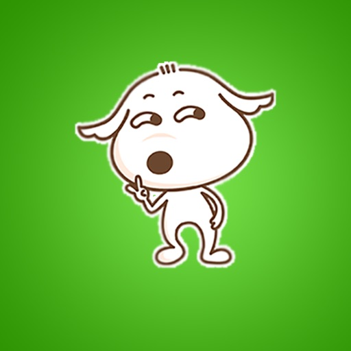 Kidly Dog Gif Stickers