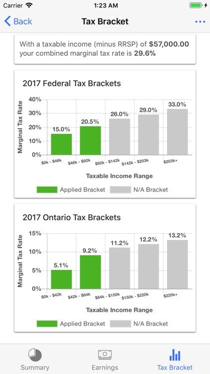 Canada Income Tax Calculator screenshot-3