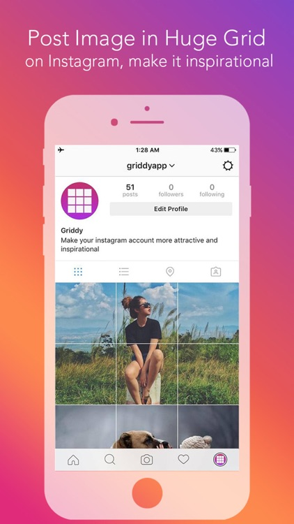Griddy Pro: Split Pic in Grids screenshot-0