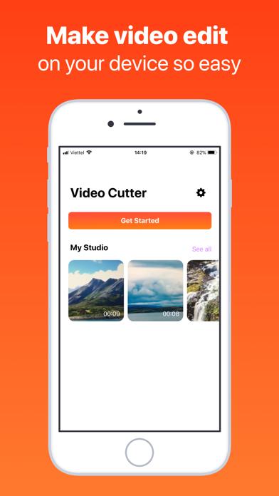 Screenshot for Cut Videos: Edit & Trim Video in Azerbaijan App Store