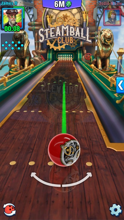 Bowling Crew - 3D bowling game screenshot-4