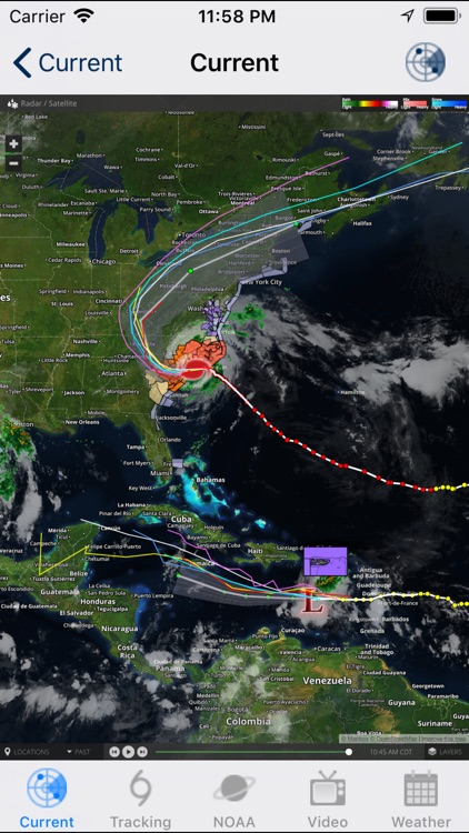 Hurricane Track & Outlook