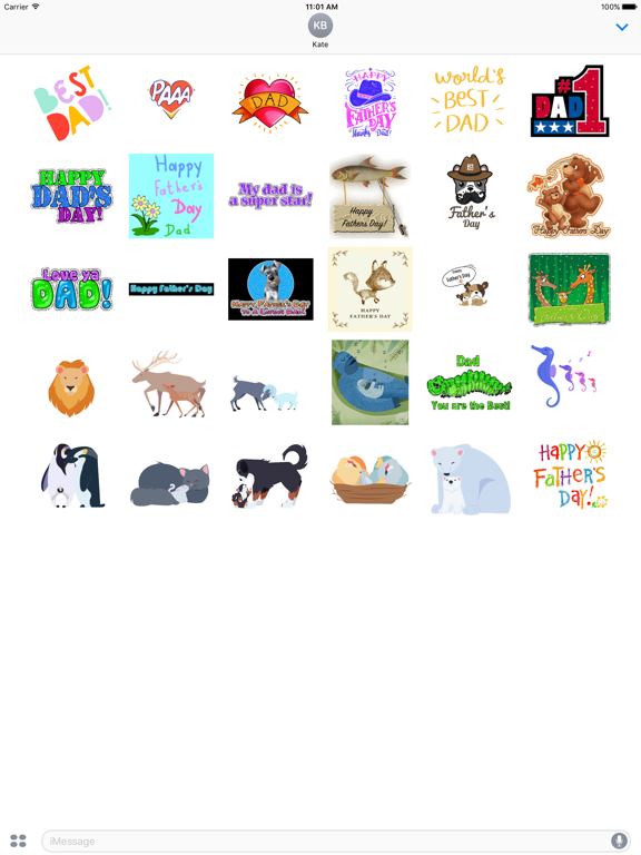 Happy Fathers Day Sticker Gifs screenshot 5