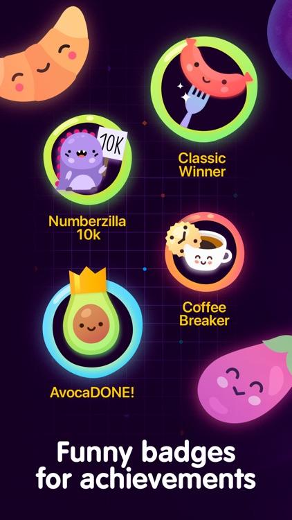 Numberzilla Number Puzzle Game screenshot-4
