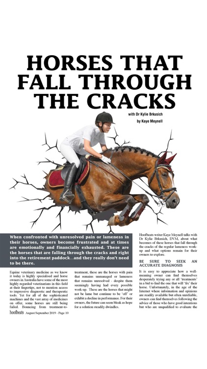 Hoofbeats Magazine screenshot-3