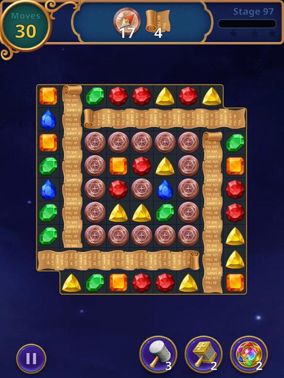 Jewels Magic: Mystery Match3 screenshot 16