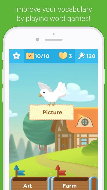 Vocab Victor English Word Game screenshot-0