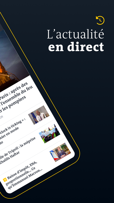Le Monde, l'info en continu screenshot two