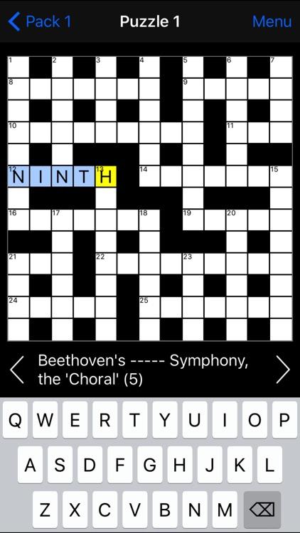 Crossword screenshot-3