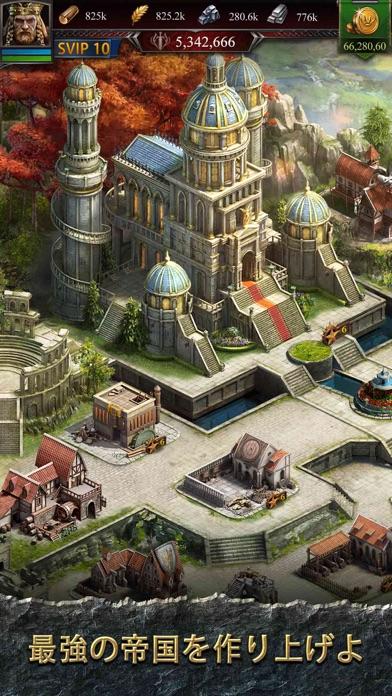 クラッシュ オブ キングス-「城育成シミュレーションRPG」 - 窓用