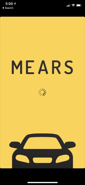 Mears Taxi on the App Store