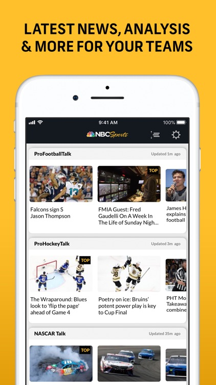 NBC Sports Scores screenshot-5