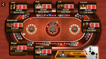 Texas Hold'em Screenshot
