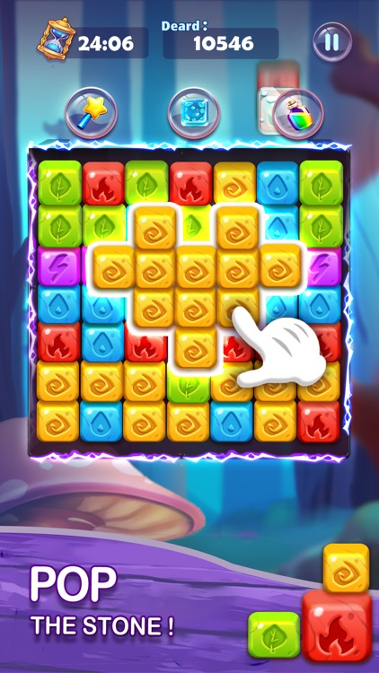 Tap Cubes - Sorceress Blast screenshot-3
