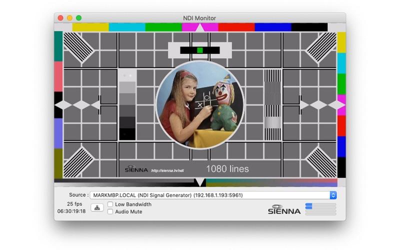NDI Monitor for Mac