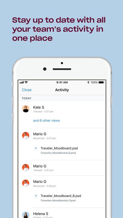 Dropbox EMM Screenshot on iOS