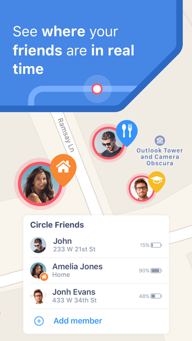 Safe24: Find Friends & Phones Screenshot