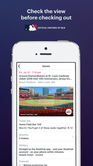StubHub: Event Tickets app image