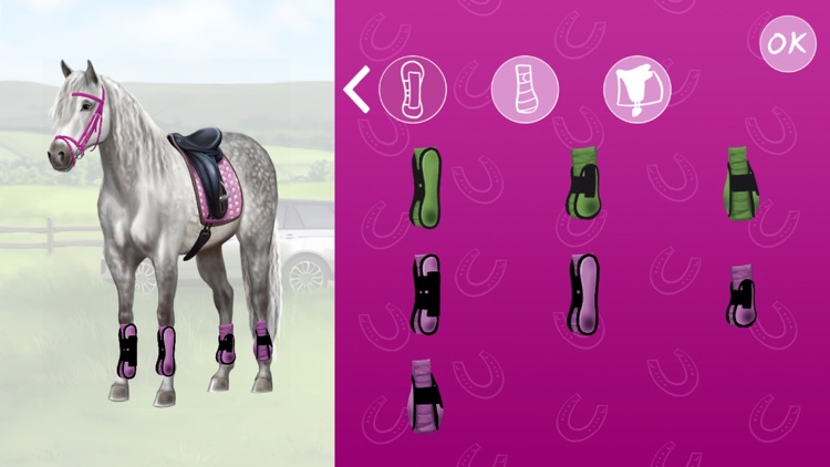 Horse and rider dressing fun screenshot-4