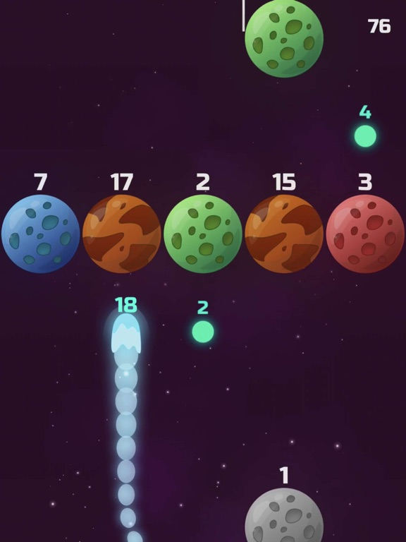 Comets vs Planets! screenshot 12