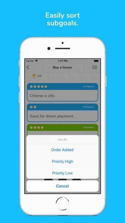 Ikigai - Life Goals Planner screenshot-5