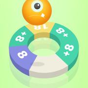 数字螺旋跳 - 数字跳跃游戏