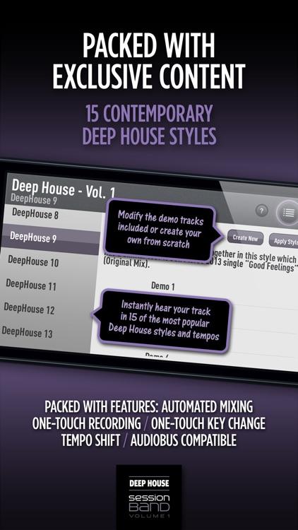 SessionBand Deep House 1 screenshot-3
