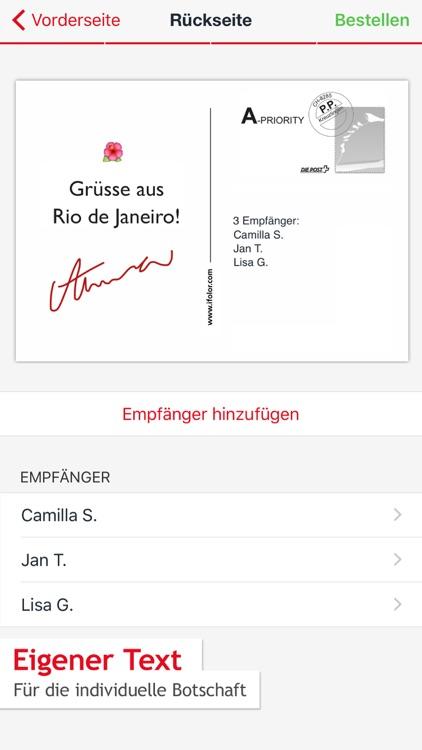 ifolor Postkarten screenshot-3