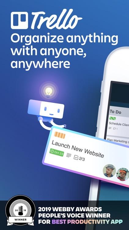 Trello — Organize anything! screenshot-0