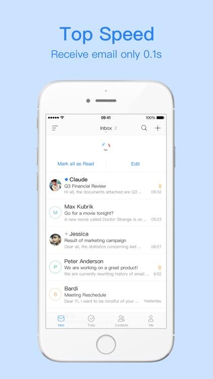 Mail Master Pro by NetEase screenshot-3