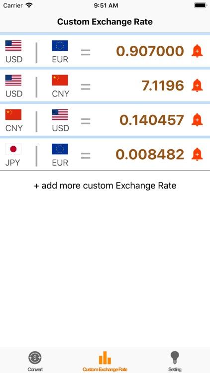 Exchange rate calculation ! screenshot-4