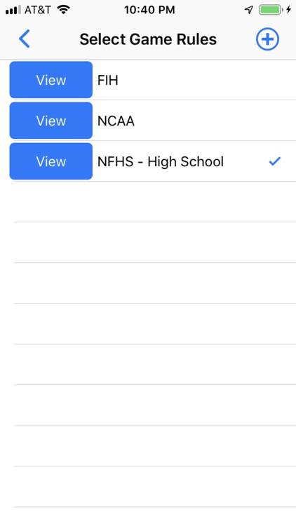 Field Hockey Scorebook + Stats screenshot-4
