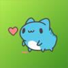Duy Tran - Capoo Cat Animated Sticker  artwork