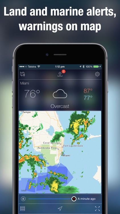 Weather Radar Map Live screenshot-3