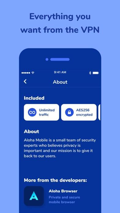 Aloha VPN - Turbo master proxy - App - Apps Store