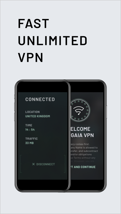 Gaia Vpn review screenshots