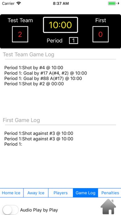 Puck Drop Time screenshot three