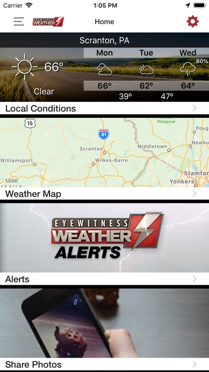 Eyewitness Weather WBRE WYOU screenshot-4
