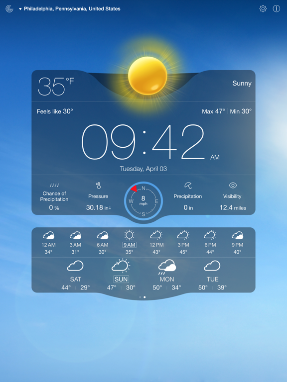Weather Live゜-ipad-2