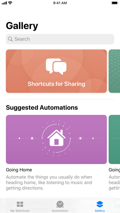 Shortcuts screenshot 3