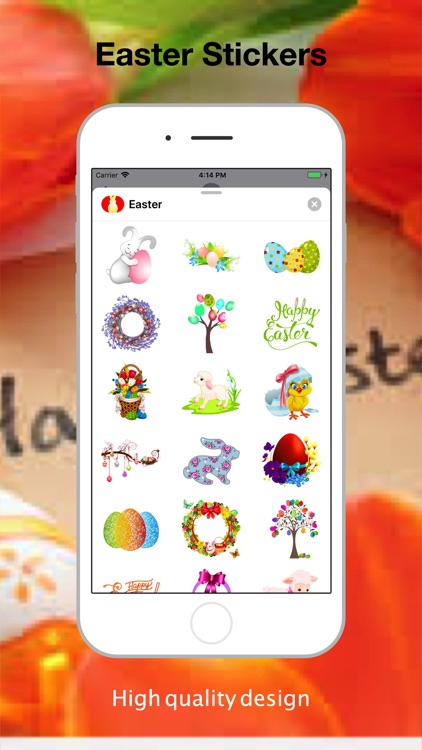 Easter Stickers Box