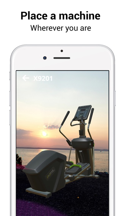 DHZ Fitness ARScreenshot von 1