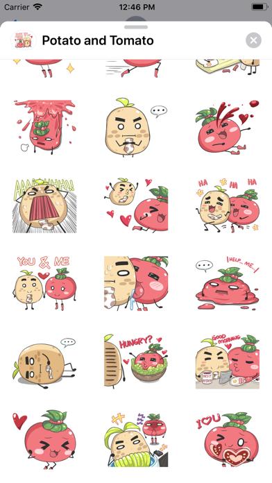 Potato and Tomato screenshot 3