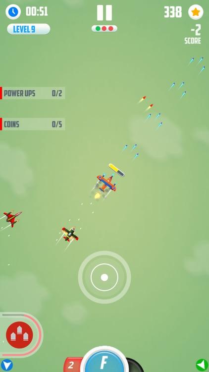 Man Vs. Missiles: Combat screenshot-6